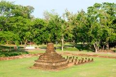 Mała pagoda przy Sukhothai, Tajlandia Obraz Royalty Free
