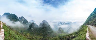 Ma Pi Leng mountain pass Royalty Free Stock Photography
