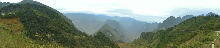 Ma Pi Leng Pass. The view of Ma Pi Leng Pass Royalty Free Stock Photography