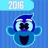 Małpi nowy rok Fotografia Royalty Free