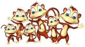 Małpia kolekcja Zdjęcia Royalty Free
