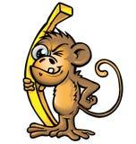 Małpia kreskówka Obrazy Royalty Free