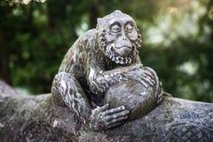 Małpia statua Zdjęcie Stock