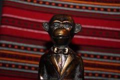 Małpia statua Obraz Stock