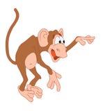 - małpia stoi Fotografia Royalty Free
