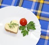 Mała porcja jedzenie Zdjęcia Stock