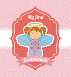Ma première communion Photo stock