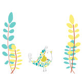 Mała Ptasia Ilustracja Zdjęcia Stock