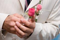 mała rose bukiet. Zdjęcia Royalty Free