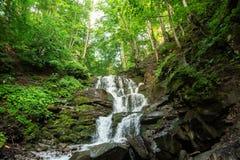 Mała siklawa halna rzeka Zdjęcie Royalty Free
