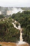Mała siklawa przy iguazu spada veiw od Brazil zdjęcia stock