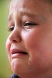 Mała smutna dziewczyna Zdjęcia Royalty Free