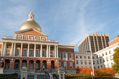 MA Statehouse Stock Photos