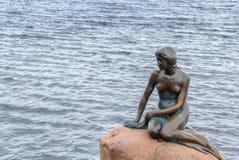 Mała syrenka, Kopenhaga Zdjęcia Royalty Free