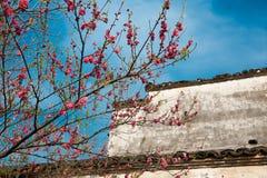 Ma Tau wall dwellings-Wuyuan, Jiangxi, China Stock Photos