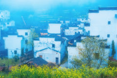Ma Tau wall dwellings-Wuyuan, Jiangxi, China Stock Image