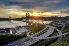 мост ma tsing Стоковые Изображения RF