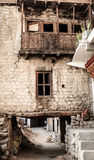 Mała ulica w Leh, India Obraz Stock