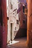 Mała ulica w Marrakech Obraz Royalty Free