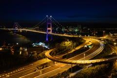 Ma van Tsing brug Stock Fotografie