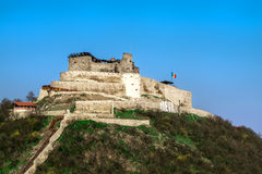 ma ville avec la vieille citadelle Image libre de droits