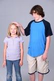 mała Wielki Brat siostra Zdjęcie Royalty Free