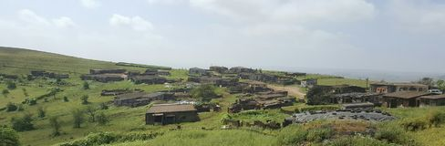 mała wioska Fotografia Royalty Free