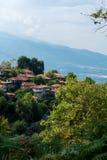 Mała wioska, Olympus góra, Grecja Fotografia Stock