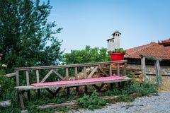 Mała wioska, Olympus góra, Grecja Obrazy Royalty Free