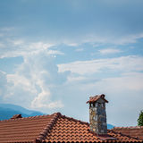 Mała wioska, Olympus góra, Grecja Obraz Stock