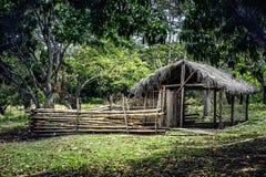 Mała wioski buda Obraz Royalty Free