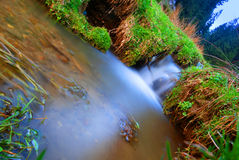mała wodospadu Obrazy Stock