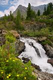 mała wodospadu Zdjęcie Royalty Free