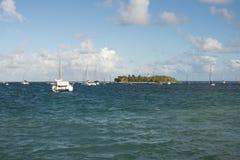 Mała wyspa Obraz Royalty Free