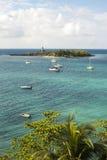 Mała wyspa Obrazy Royalty Free