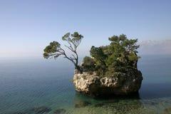 Mała wyspa w Adriatyckim morzu Fotografia Royalty Free