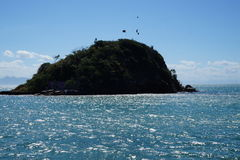 Mała wyspa w Brazil Zdjęcie Stock