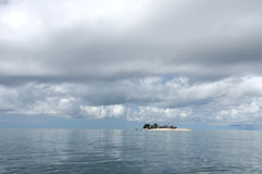 Mała wyspy burza Fotografia Stock