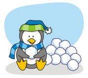 mały 3 pingwin royalty ilustracja