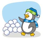 mały 4 pingwin royalty ilustracja