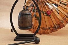 mały azjatykci gong Obrazy Stock