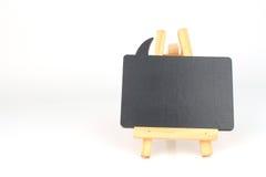 Mały blackboard dla twój teksta Zdjęcia Royalty Free