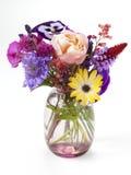 Mały bukiet ogrodowi kwiaty Obrazy Stock