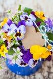 Mały bukiet wiosna kwiaty Obrazy Royalty Free