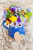Mały bukiet wiosna kwiaty Fotografia Royalty Free