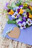 Mały bukiet wiosna kwiaty Obraz Stock