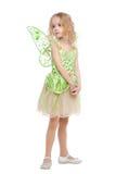 Mały czarodziejski dziewczyna portret Zdjęcie Royalty Free