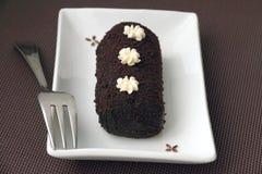 Mały czekoladowy cukierki tort Fotografia Royalty Free