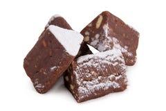 Mały czekoladowy cukierki tort Obraz Royalty Free