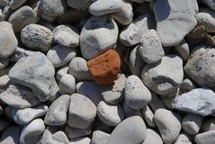 mały czerwony rocky Fotografia Stock